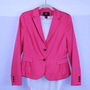 Womens H&M hot pink blazer - 12